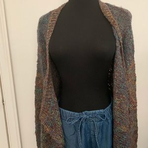 Cynthia Rowley Multi colored open cardigan Size M